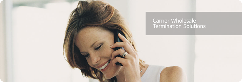 Carrier Wholesale Termination Solutions